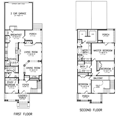 Floor Plan image of Featured House Plan: BHG - 8402