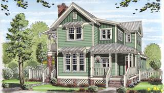 image of The Wood Falls Cottage House Plan