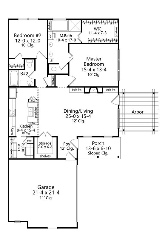 Featured House Plan Bhg 9631