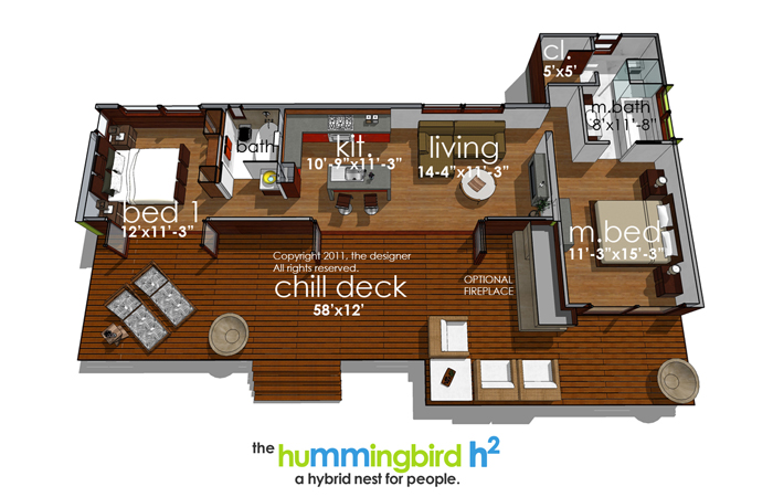 Floor Plan image of Featured House Plan: BHG - 3973