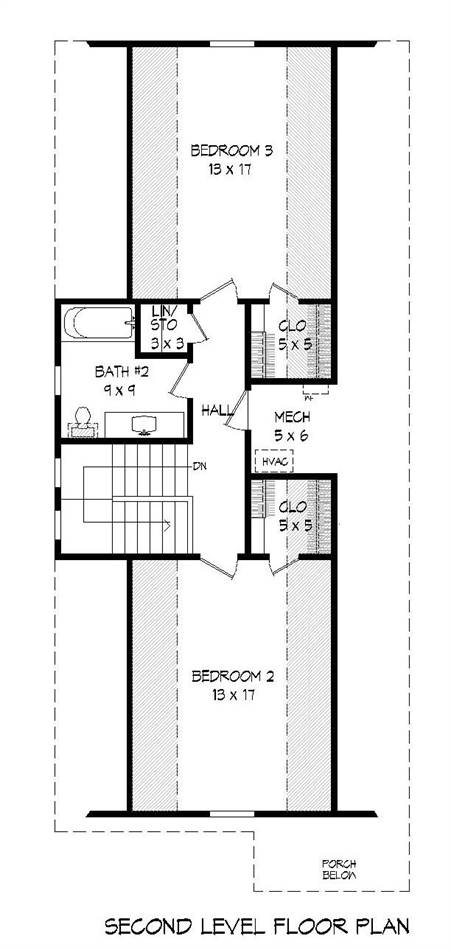 2nd Floor Plan image of Featured House Plan: BHG - 2010