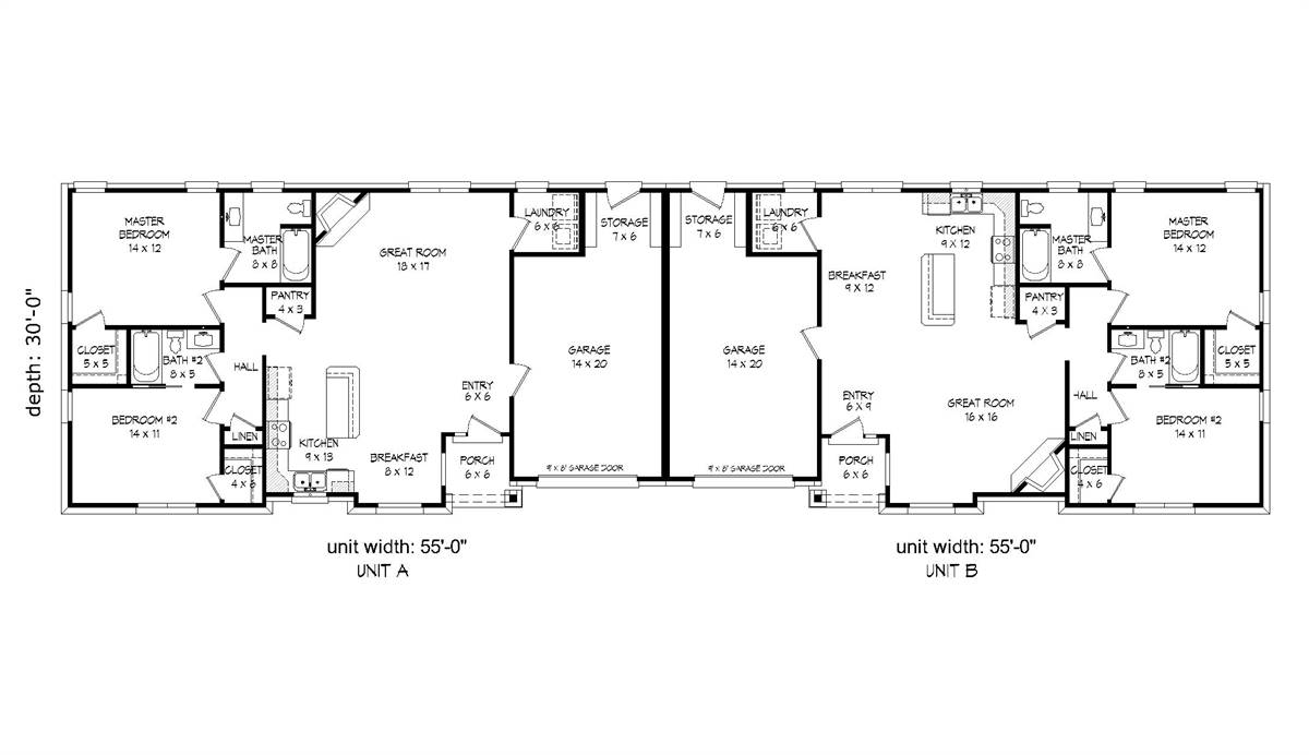 1st Floor Plan image of Featured House Plan: BHG - 2016