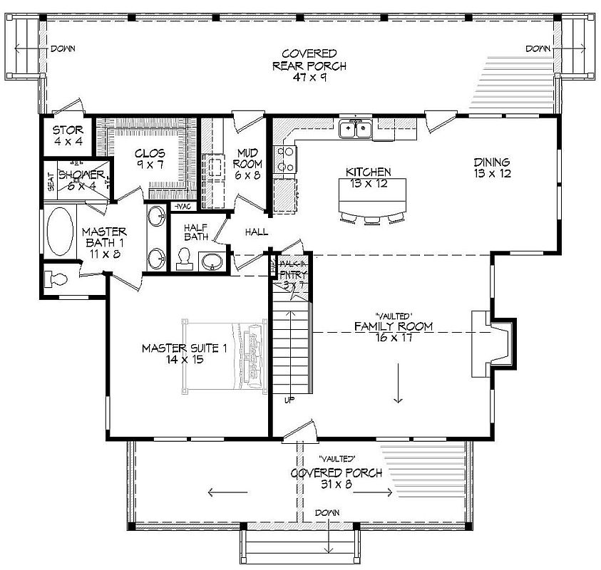 Featured House Plan Bhg 9721