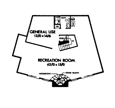 Basement image of Featured House Plan: BHG - 6126
