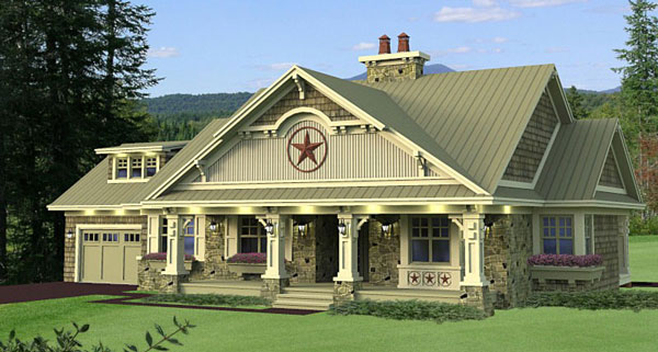 Featured House Plan Bhg 9664