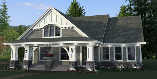 Featured House Plan Bhg 9669