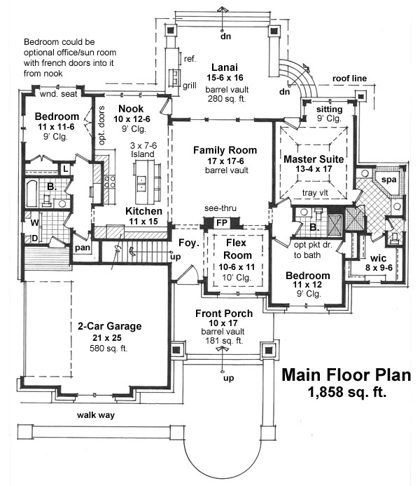 Featured House Plan Bhg 9670