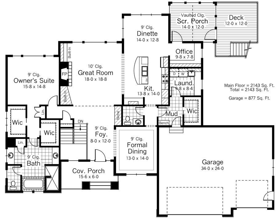 Featured House Plan Bhg 9687