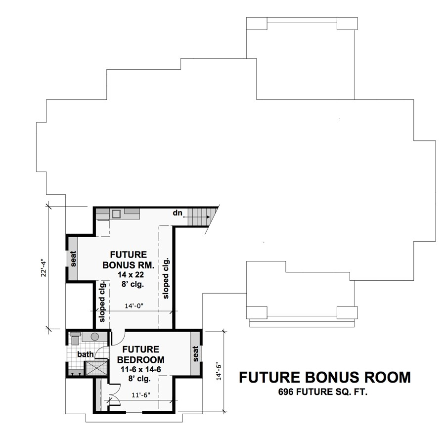 Featured House Plan Bhg 9719