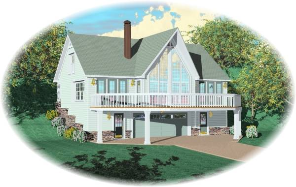 Mountain Home House Plan