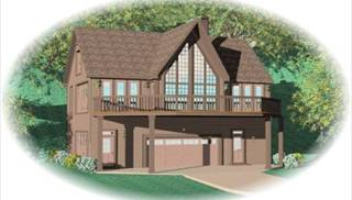 image of Hillside Escape House Plan
