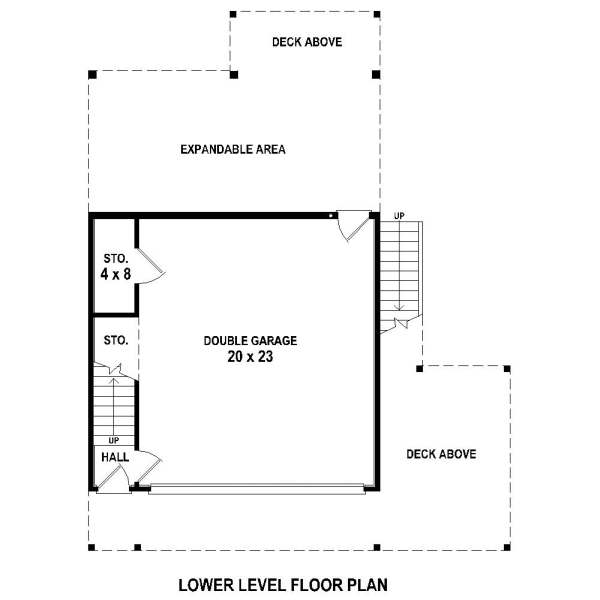 1st Level image of Featured House Plan: BHG - 4372