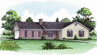 image of The Hidden Meadow House Plan