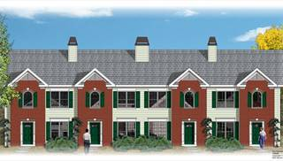 image of 4 Unit Townhouse House Plan