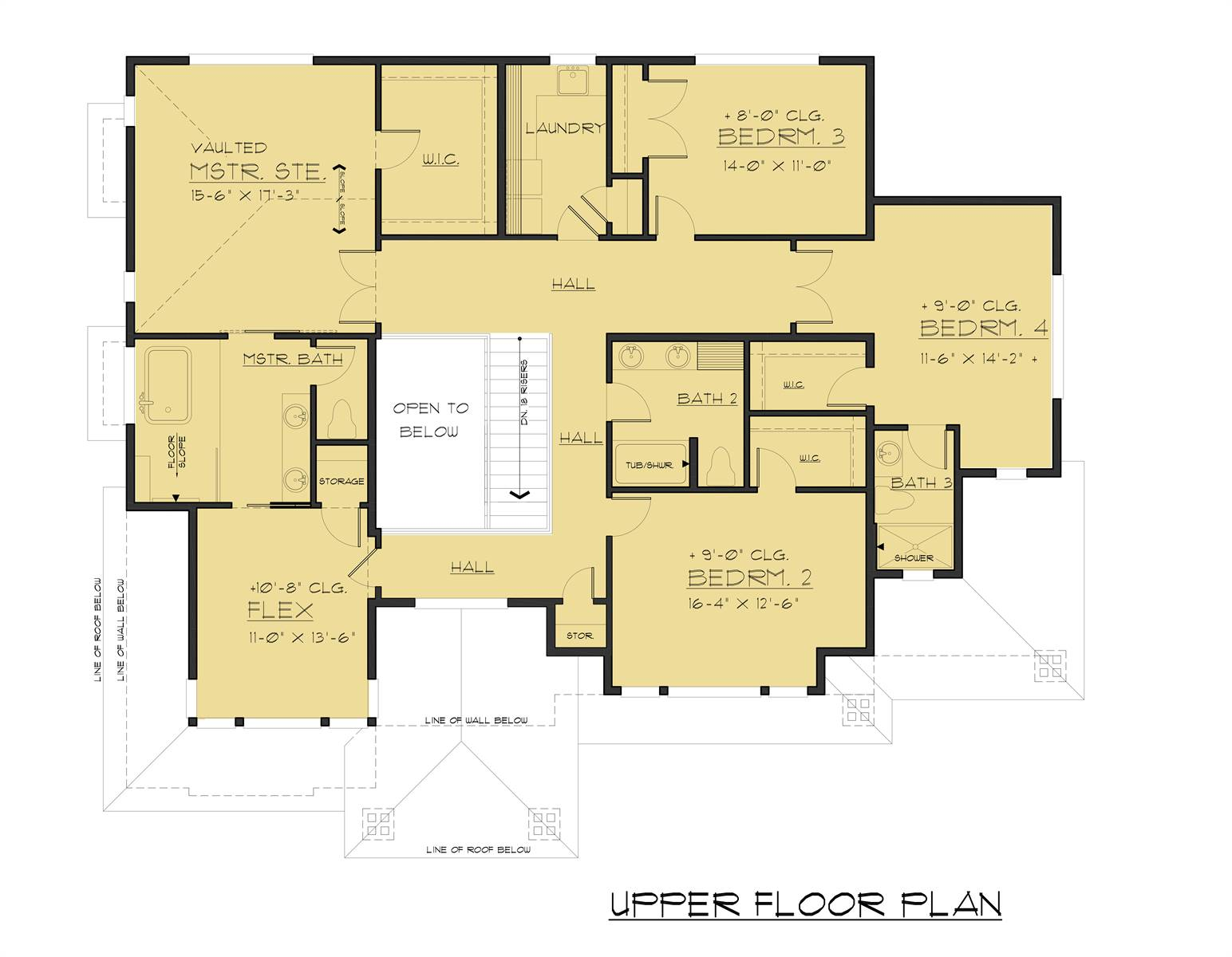 2nd Floor image of Featured House Plan: BHG - 6329