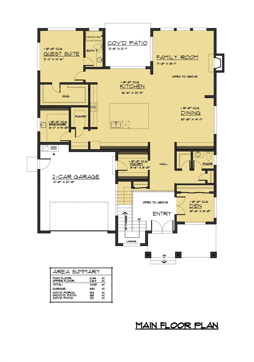 1st Floor Plan image of Featured House Plan: BHG - 7888