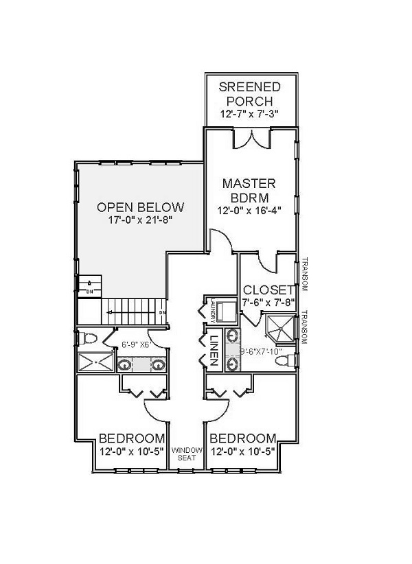 2nd Floor image of Featured House Plan: BHG - 5532