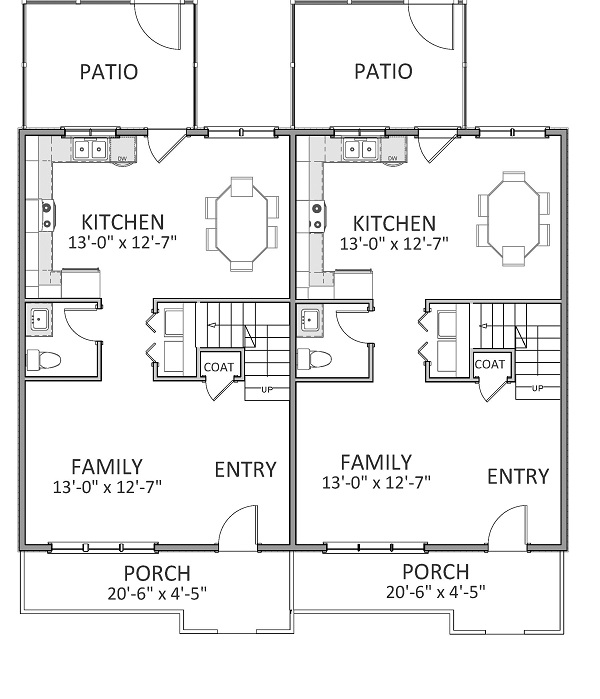 1st Floor image of Featured House Plan: BHG - 9214