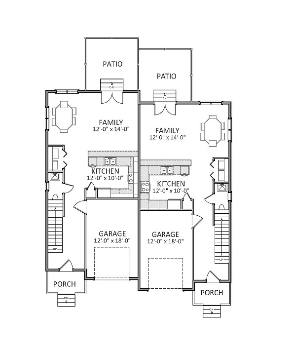 1st Floor image of Featured House Plan: BHG - 9230