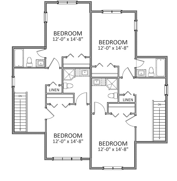 2nd Floor image of Featured House Plan: BHG - 9230