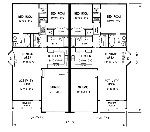 floor plan image of Featured House Plan: BHG - 7754