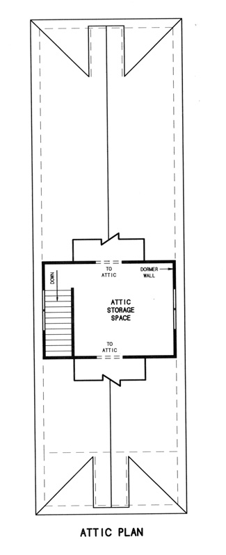 3rd floor plan image of Featured House Plan: BHG - 7761