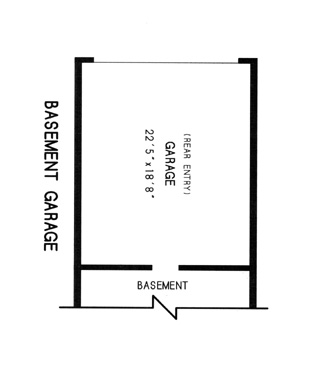 basement garage plan image of Featured House Plan: BHG - 7761