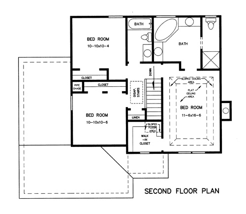 Featured House Plan Bhg 7739