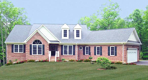 Front Photo image of Featured House Plan: BHG - 4184