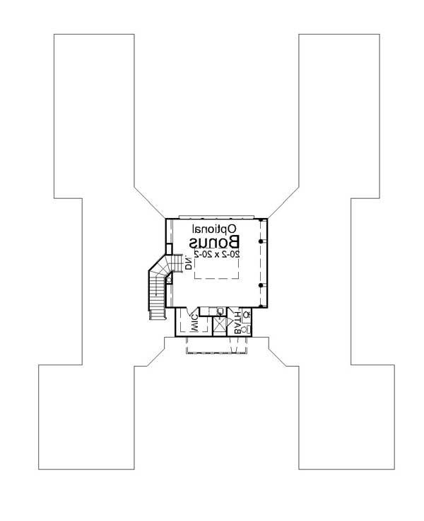 2nd Floor Plan image of Featured House Plan: BHG - 7982