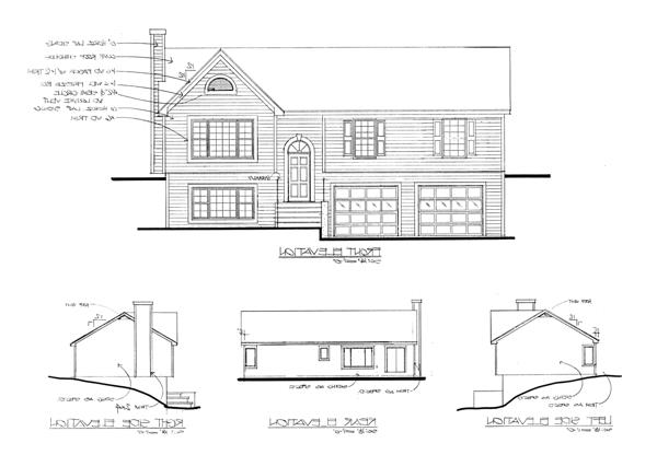Rear Elevation image of Featured House Plan: BHG - 6283