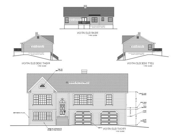 Rear Elevation image of Featured House Plan: BHG - 6286