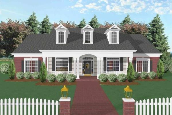 The Broxton House Plan