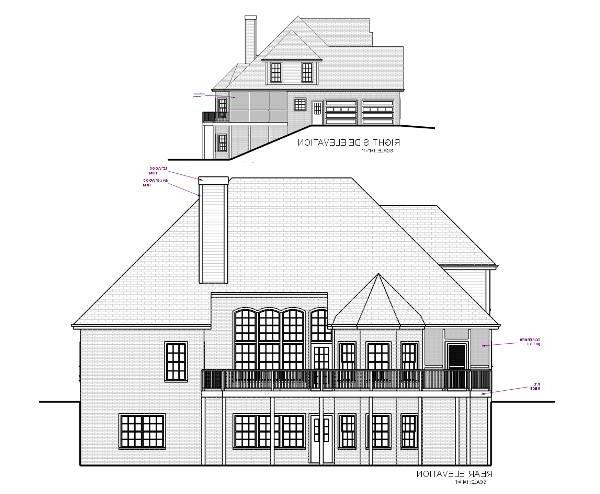 Rear Elevation image of Featured House Plan: BHG - 6255