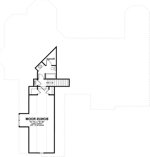 Bonus Room image of Featured House Plan: BHG - 6248