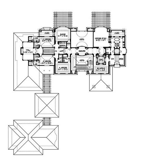 Upper Floor image of Featured House Plan: BHG - 3236