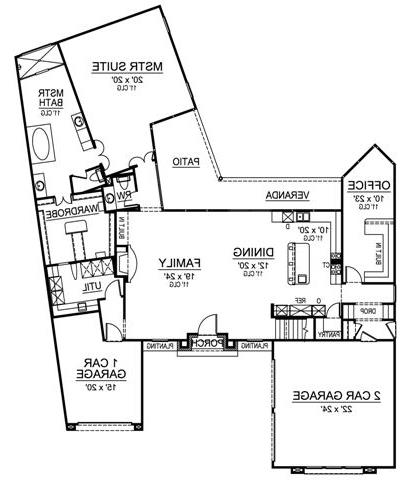 First Floor image of Featured House Plan: BHG - 4859