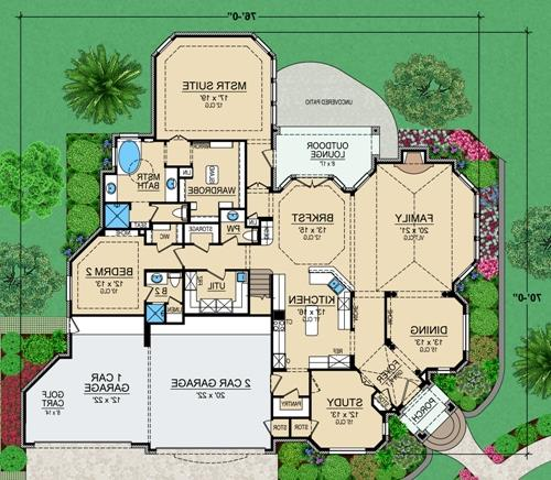 First Floor 2 image of Featured House Plan: BHG - 4690