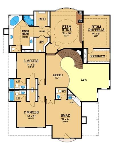 Second Floor 2 image of Featured House Plan: BHG - 4874