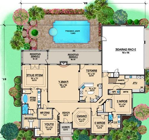 First Floor 2 image of Featured House Plan: BHG - 4906