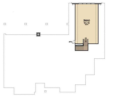 Second Floor 2 image of Featured House Plan: BHG - 4906
