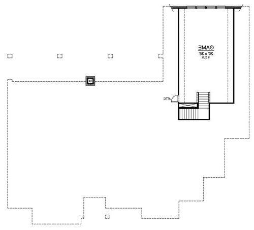 Second Floor image of Featured House Plan: BHG - 4906