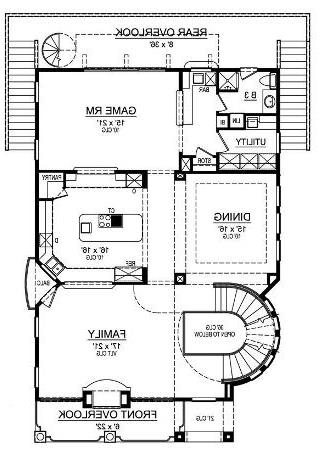 Second Floor image of Featured House Plan: BHG - 5286