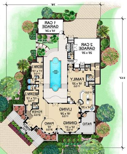 First Floor 2 image of Featured House Plan: BHG - 4749