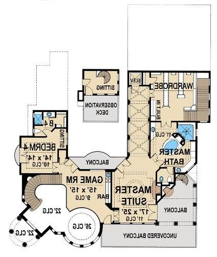 Second Floor 2 image of Featured House Plan: BHG - 4749
