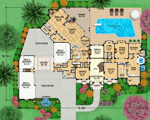 First Floor 2 image of Featured House Plan: BHG - 4525