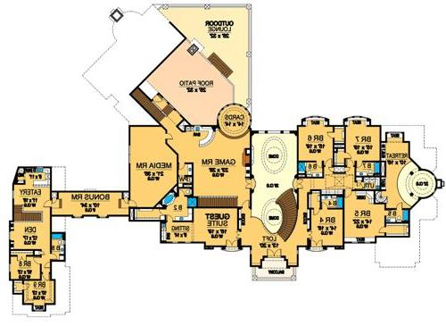Second Floor 2 image of Featured House Plan: BHG - 4525