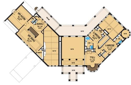 Second Floor 2 image of Featured House Plan: BHG - 5131
