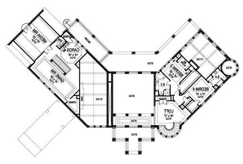 Second Floor image of Featured House Plan: BHG - 5131