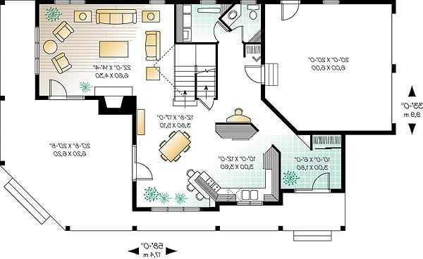 First level image of Featured House Plan: BHG - 1174